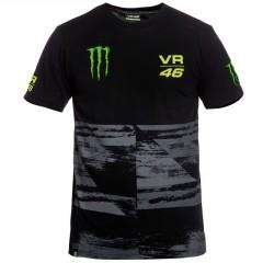 Tee Shirt Noir Monster VR 46