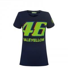 Tee Shirt Valentino Rossi Bleu Femme