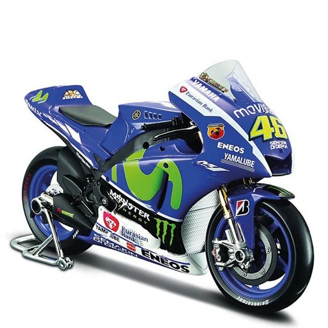 Maquette Moto Yamaha YZR-M1 VR46 1:10