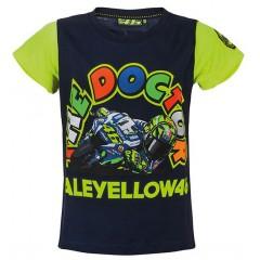 Tee Shirt Valentino Rossi Bleu Enfant