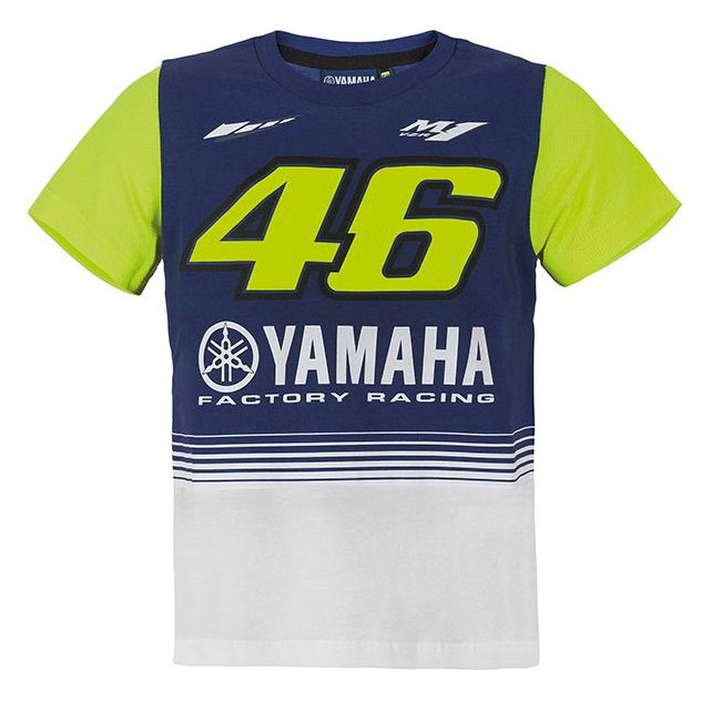 Tee Shirt Yamaha et Valentino Rossi 46 pour
