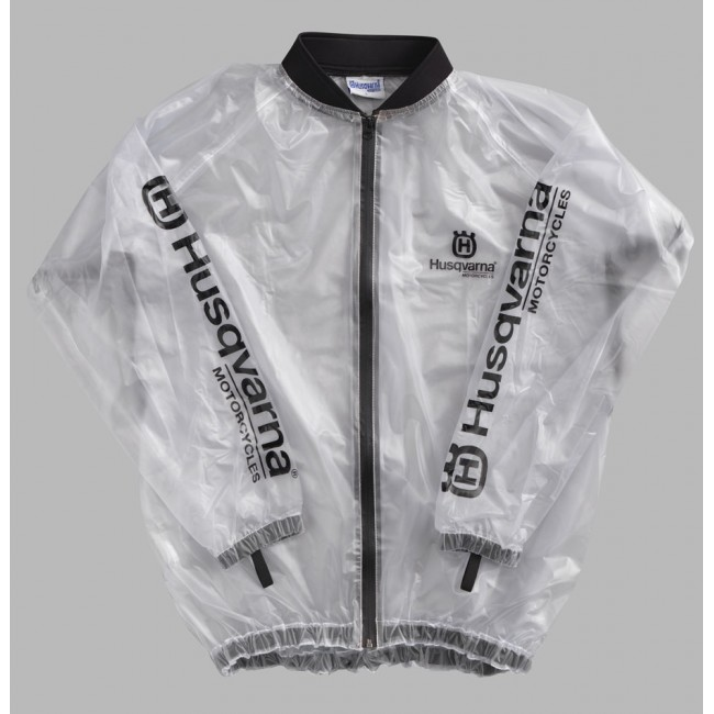 Imperméable transparent offroad Husqvarna