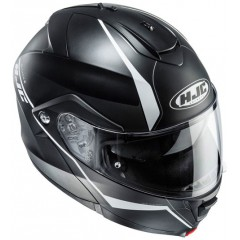 Casque HJC IS-MAX II Mine Noir Blanc