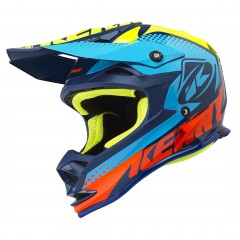Casque Kenny Performance CYAN 2018