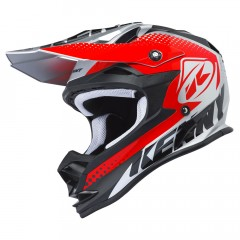 Casque Kenny Performance Silver / Rouge 2018