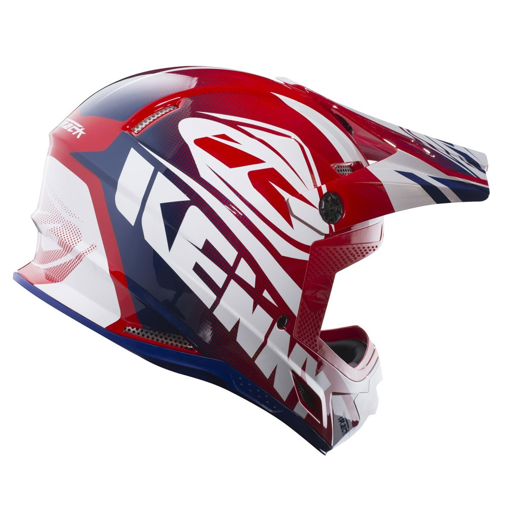 Casque Kenny Track Rouge 2018 Moto And Co