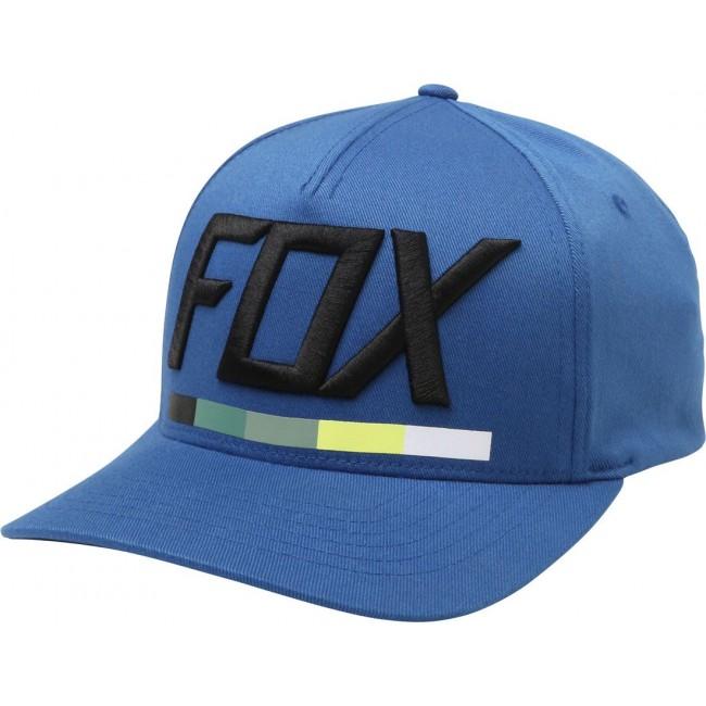 Casquette Fox DRAFTR FLEXFIT Bleu
