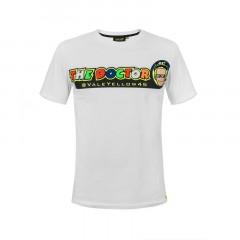 Tee Shirt VR46 Cupolino Blanc