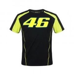 Tee Shirt VR46 Race Noir