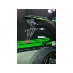 Support de plaque V PARTS noir Kawasaki Z900