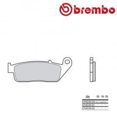 Plaquettes de frein avant Brembo 07HO30 SA métal fritté