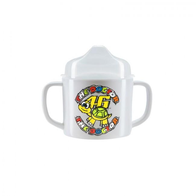 Tasse multicolore pour bébé motif tortue