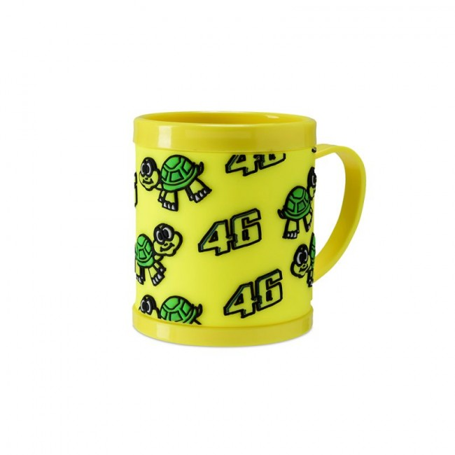 Mug jaune en plastique VR46