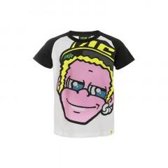 Tee Shirt enfant Dottorino blanc VR46