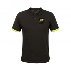 Polo homme Monster noir VR46