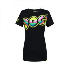 Tee Shirt femme Doc noir VR46
