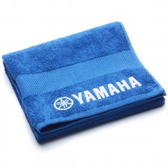 Serviette de bain bleu Yamaha