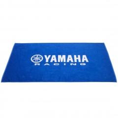 Serviette de plage bleu Yamaha