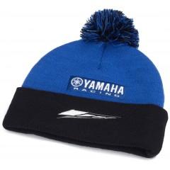 Bonnet à pompon Paddock Bleu Yamaha
