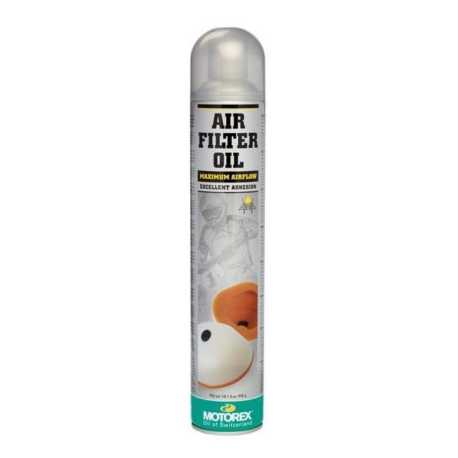 Spray huile pour filtre à air 750ml Motorex