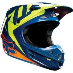 Casque Fox V1 RACE NVY YLW
