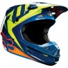 Casque Fox V1 RACE NVY YLW
