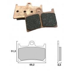 Plaquettes de frein SEMC GPXPH335
