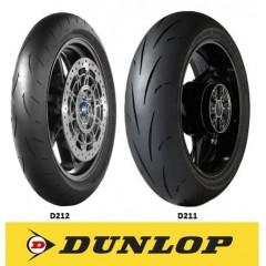 Pack Pneu Dunlop Piste - 180E