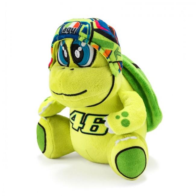 Peluche VR46 avec son casque multicolore - 13cm