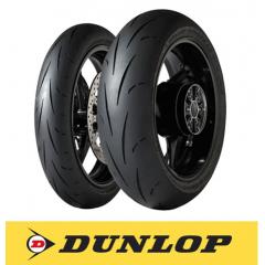 Pack Pneu Dunlop Piste - 190E