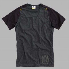 Tee Shirt Husqvarna Progess Noir