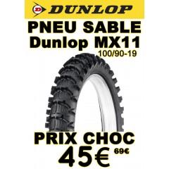 Pneu Sable DUNLOP MX11 100/90-19