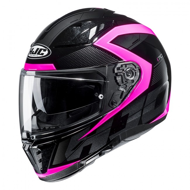 Casque Route Hjc Casque Hjc I70 Astro Rose Moto And Co