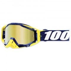 Lunettes MX 100% RACECRAFT Bibal Navy
