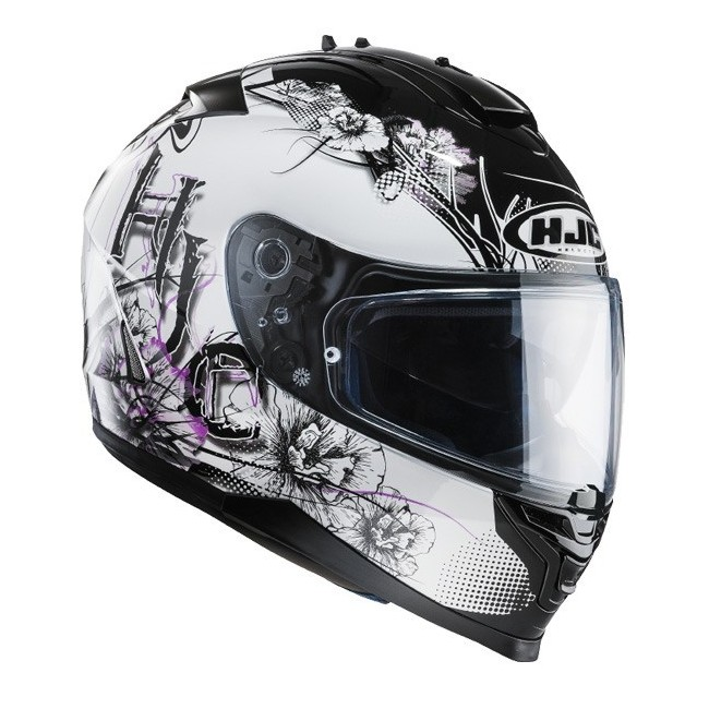 Casque HJC IS17 Barbwire Rose