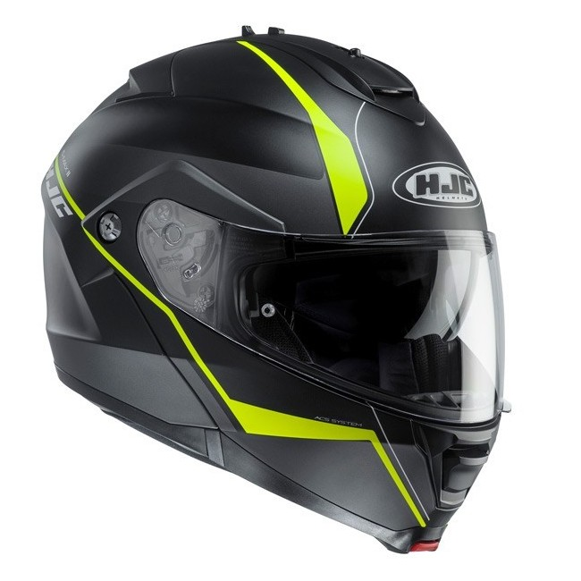 Casque HJC IS-MAX II Noir Jaune