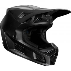 Casque FOX V3 Solids Noir Mat