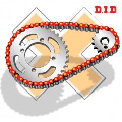 Kit Chaine DID Suzuki DR125 1985 à 2000