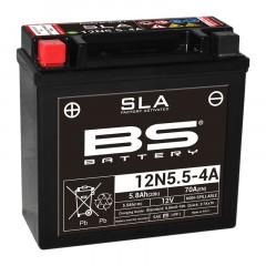 Batterie BS 12N5.5-4A SLA sans entretien activée usine