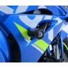 Tampons de protection R&G RACING Aero noir Suzuki GSX-R1000 17-18