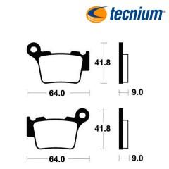 Plaquettes de frein TECNIUM MO291 métal fritté