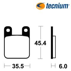 Plaquettes de frein TECNIUM ME59 organique