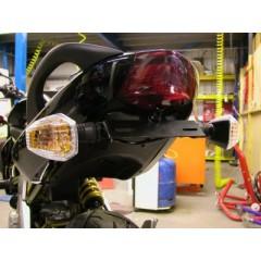 Support de plaque R&G Kawasaki ER6 F/N 2006/2008