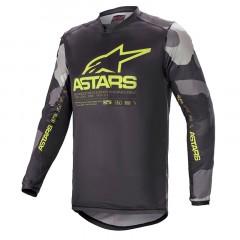 Maillot Alpinestars Racer Tactical 2021 Jaune camo