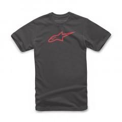 Tee Shirt Alpinestars Ageless II Noir / Rouge