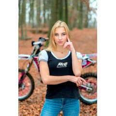 Tee Shirt Moto And Co pour Femme