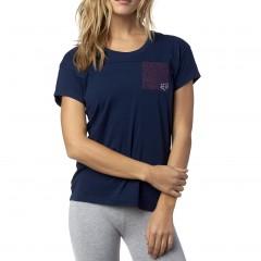 Tee shirt FOX Initiate Bleu pour femme