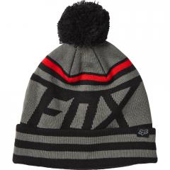 Bonnet Fox Fist Up Noir Rouge