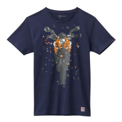Tee Shirt KTM Bike Bleu